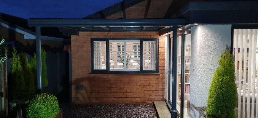 Glass veranda by dencas chester
